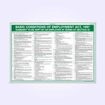 contravation of the basic conditions of employment act The south african basic conditions of employment act south african immigration legislation stipulate that foreign workers must be remunerated and employed fairly the basic conditions of employment act is the yardstick against which this is measured.